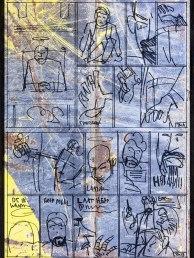 Splinter Het Album - p34 schetswerk en MoArt